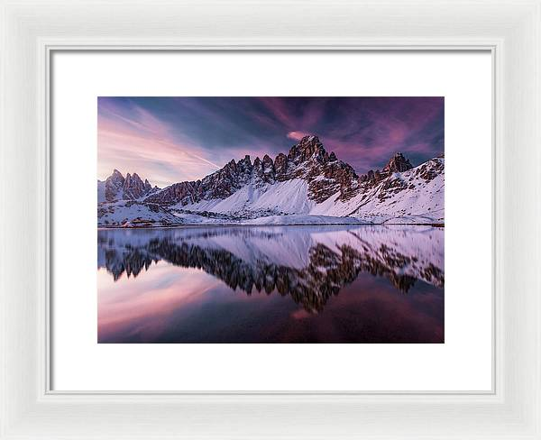 Castle In Color - Framed Print