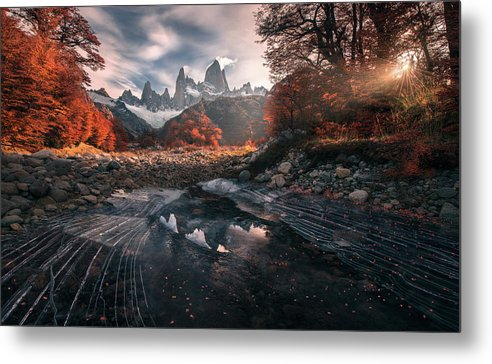 Change of the Seasons - Metal Print