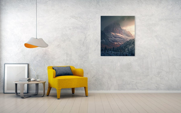 Cold and Warm Dolomites - Art Print
