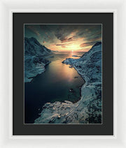 Cold Road to the Sun - Framed Print