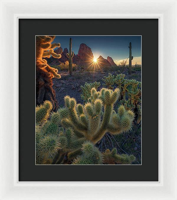 Deserts of California - Framed Print