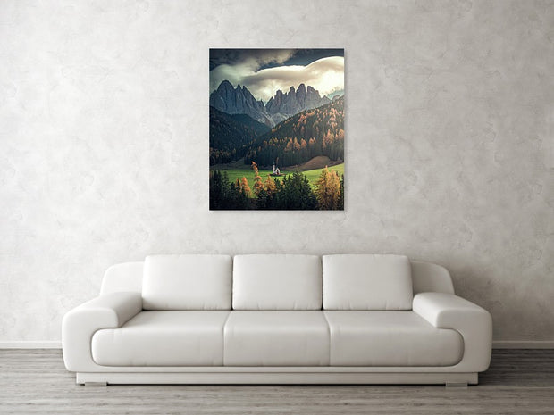 Dolomiti Church - Art Print