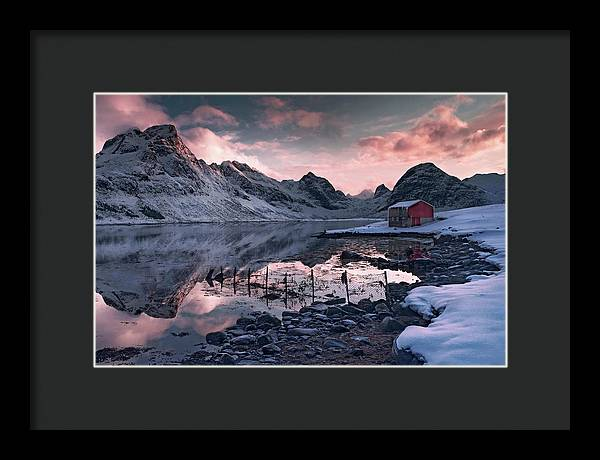 Fisherman's View - Framed Print