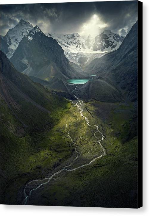 From Above - Canvas Print