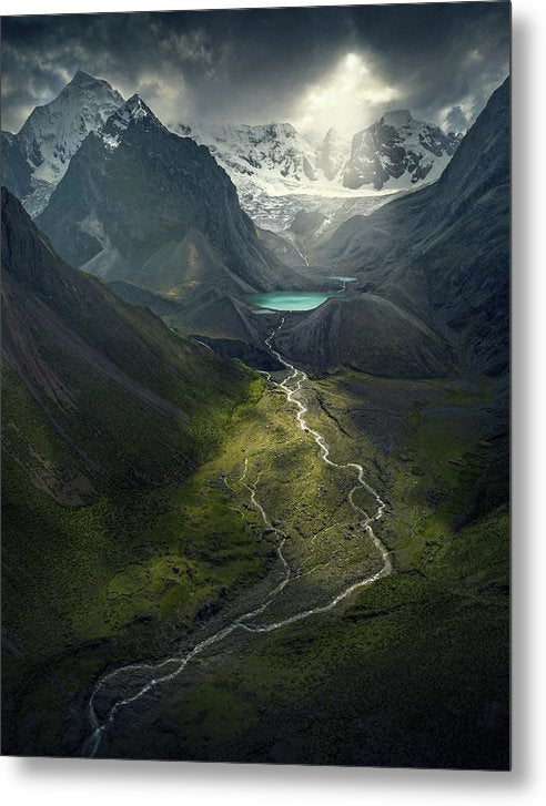 From Above - Metal Print
