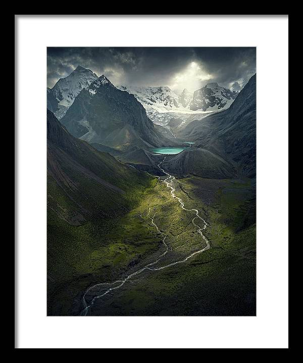 From Above - Framed Print