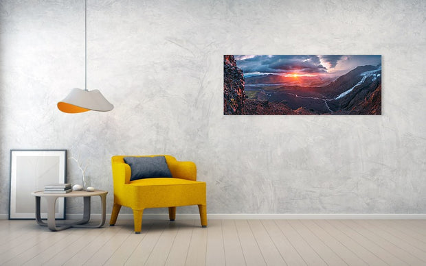 Greeting from Mordor - Canvas Print