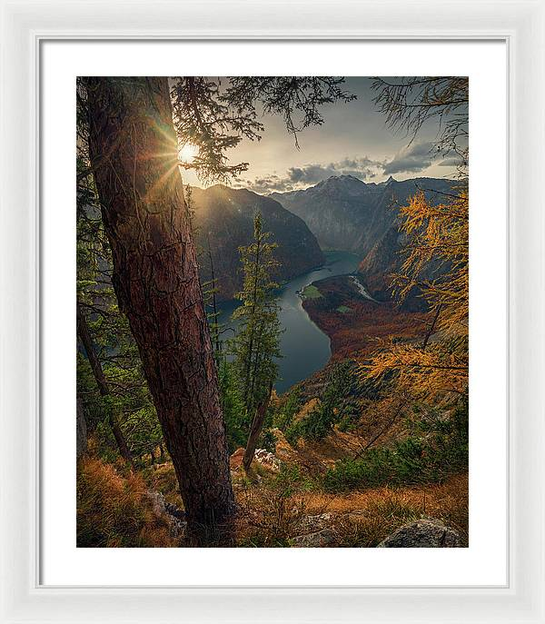 Losing the Sun - Framed Print