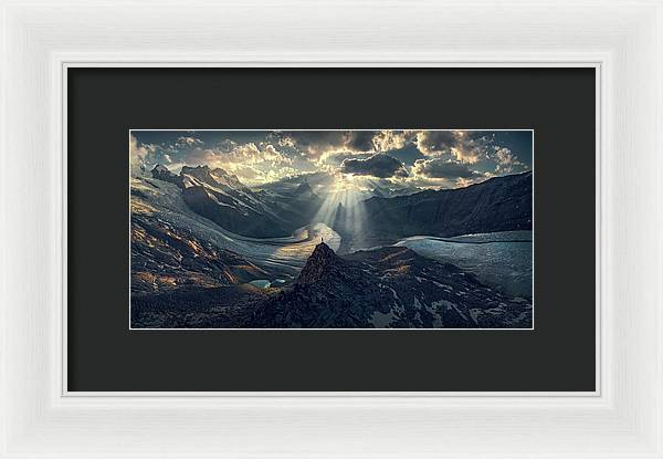Meeting Point - Framed Print