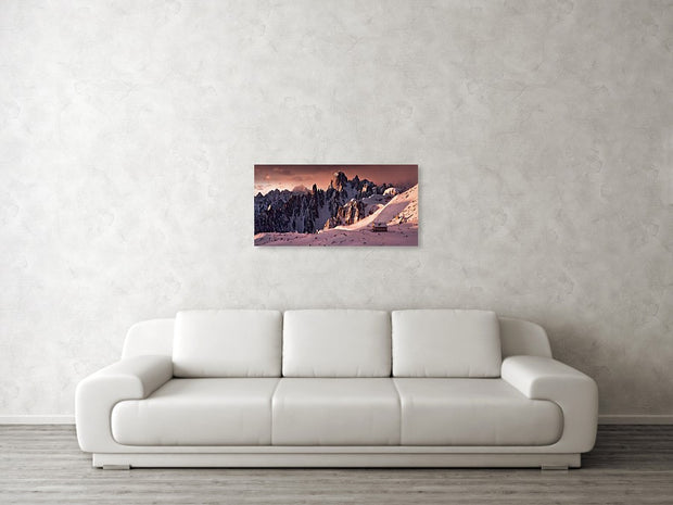 Morning of Fire - Metal Print