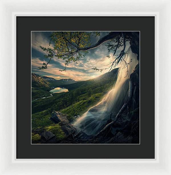 Norwegian Summer - Framed Print
