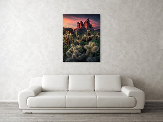 Superstition Mountains - Art Print