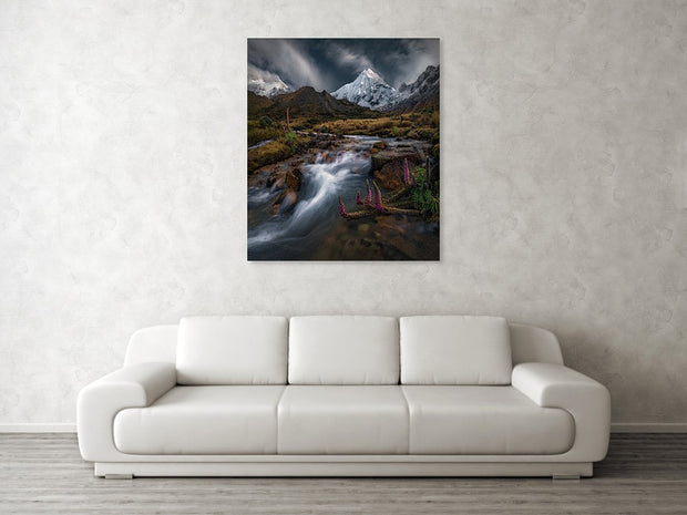 The Bright White - Metal Print