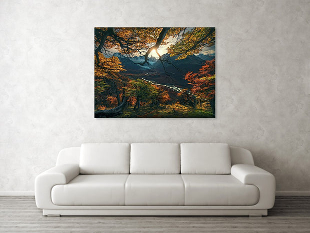 The Change of the Seasons - Art Print