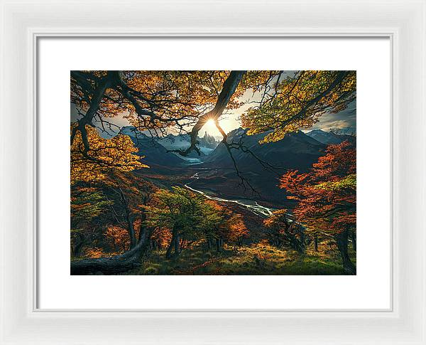 The Change of the Seasons - Framed Print