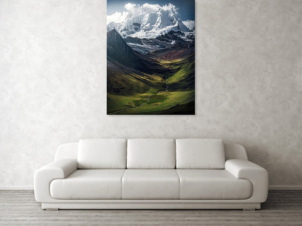The Colors of the Andes - Art Print
