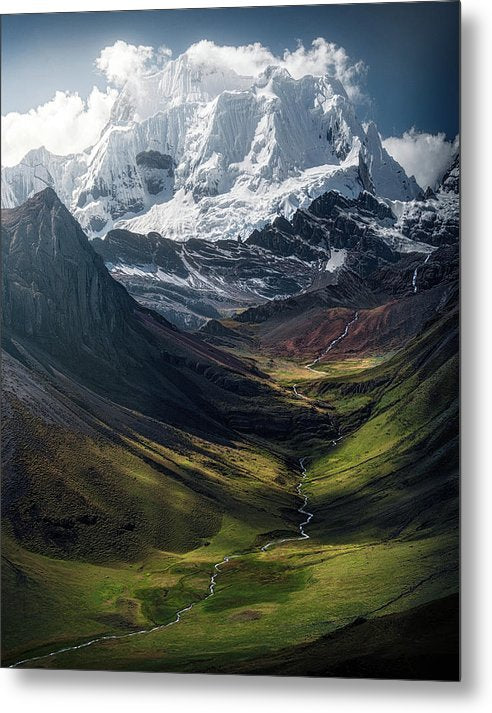 The Colors of the Andes - Metal Print