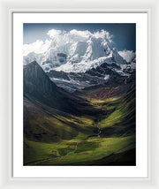The Colors of the Andes - Framed Print