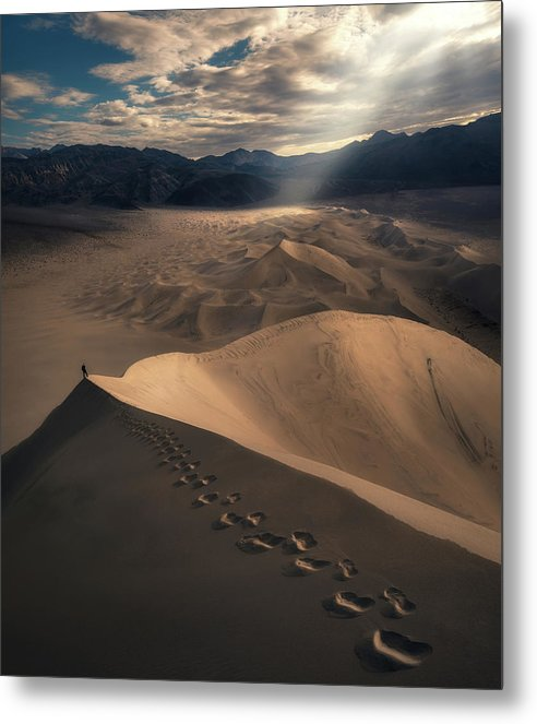The Desert Summit - Metal Print