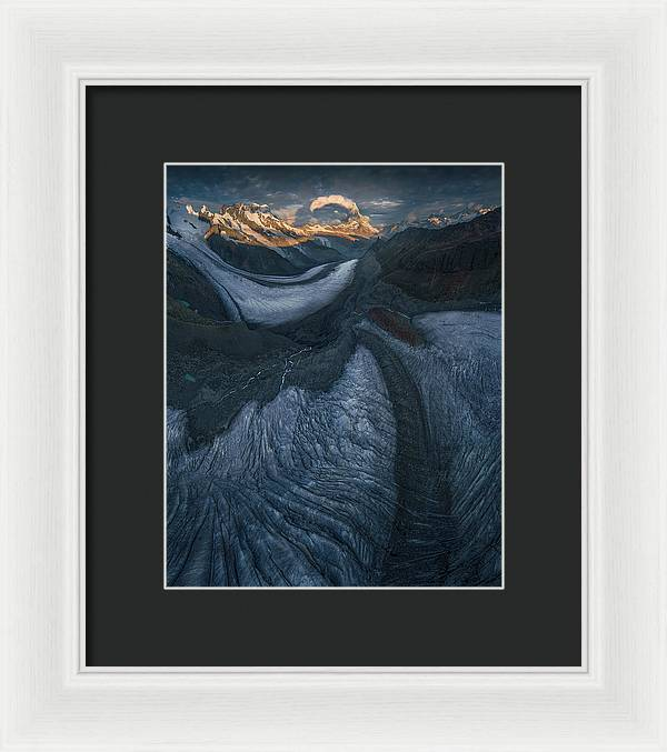 The Dying Brothers - Framed Print