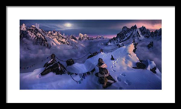 The Endless Search - Framed Print