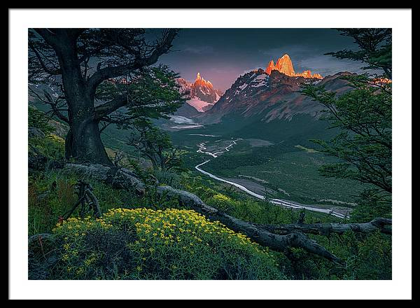 The First Light - Framed Print