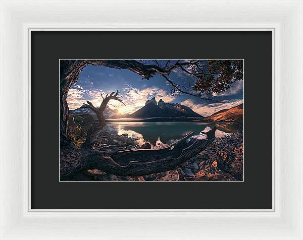 The Forgotten and the Famous - Framed Print