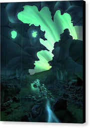 The Ghost Cave - Canvas Print