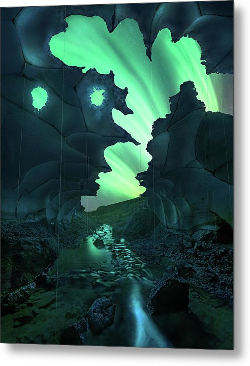 The Ghost Cave - Metal Print