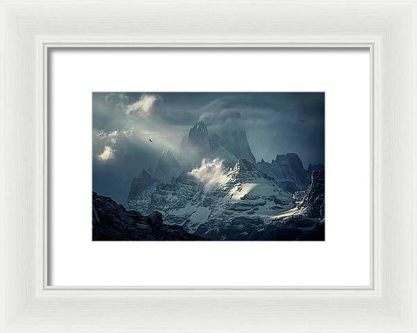 The Last Flight - Framed Print