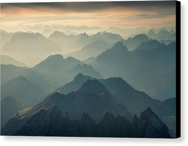 The Layers - Canvas Print