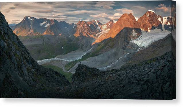 The Lost Glacier - Canvas Print