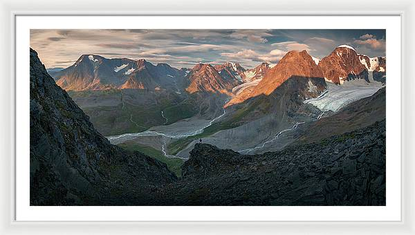 The Lost Glacier - Framed Print