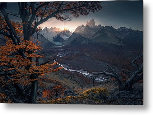 The Lost Light - Metal Print