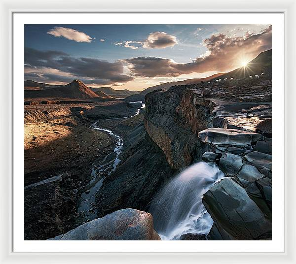 The Lost World - Framed Print