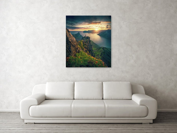 The Midnight Dreamer - Metal Print