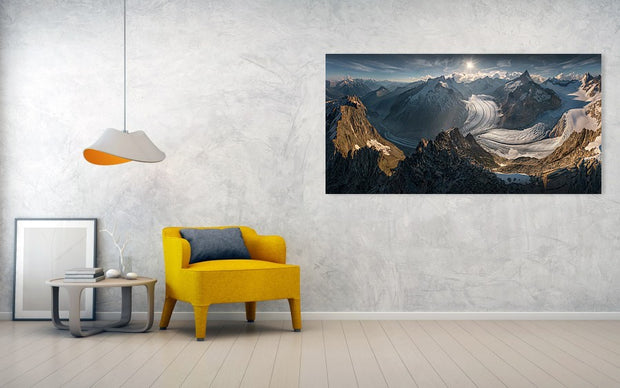 The Mountain Dreamer - Metal Print