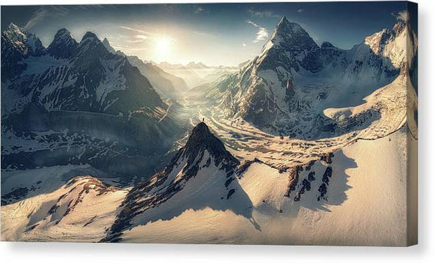 The Mountaineer - Canvas Print