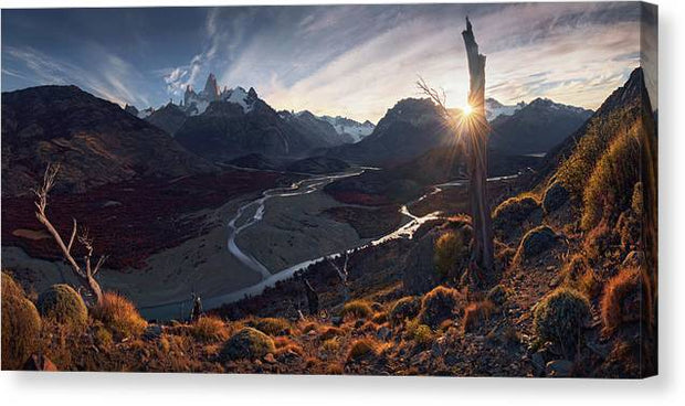 The Road to Fitz - Canvas Print