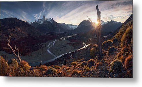 The Road to Fitz - Metal Print