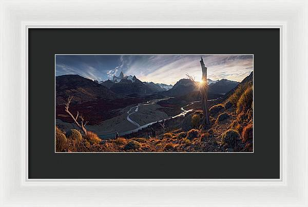 The Road to Fitz - Framed Print