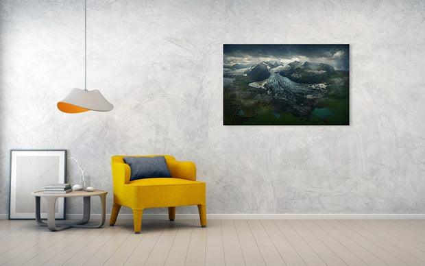 The Tears of the Glacier - Metal Print