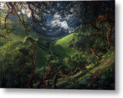 The White Mountain - Metal Print