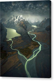The White Storm - Canvas Print