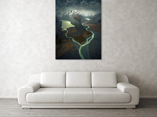 The White Storm - Acrylic Print