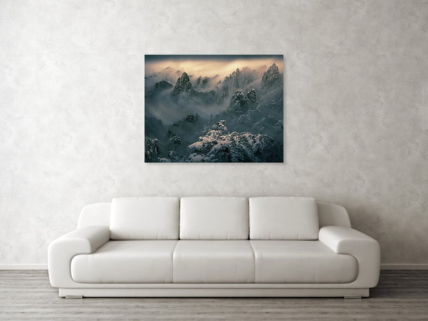 The Winter Storm - Canvas Print
