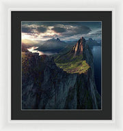 The Wonder at Segla - Framed Print
