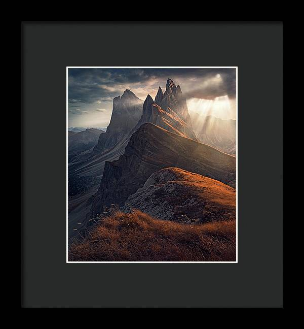 Warm Autumn - Framed Print