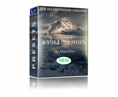 Winter and Cold Lightroom Presets