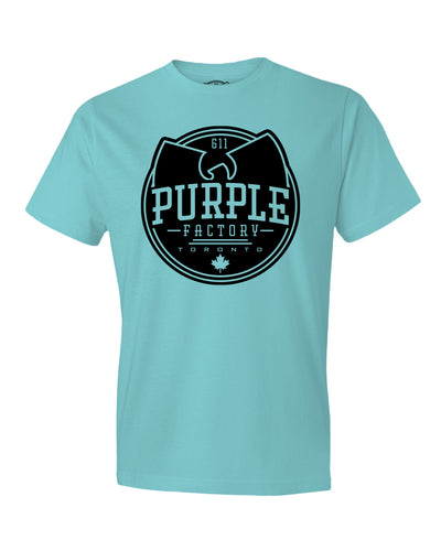 Purple Factory Full Logo Tee Shirt